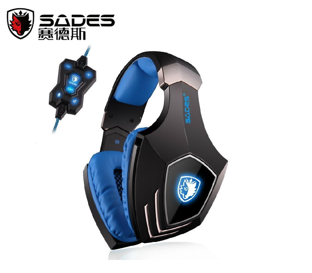 HKE戰隊指定使用品牌 Spellond 狼鑽 模擬7.1環繞立體聲 Sades Professional Series旗艦級PC遊戲耳機Spellond A60 內建C-MEDIA音效晶片,隨著SADES USB耳機你會得到令人印象深刻的模擬7.1聲道環繞聲。並可按需要設定2 channnel - 8 channnel ,比起2.1或5.1聲道,7.1能給玩家提供更大的空間感,配合遊戲時能清楚分辨出背景音樂,環境聲,腳步聲,槍聲,爆炸聲,層次分明,戴上耳機後仿如置身遊戲空間內,所有事物逼真呈現,強烈建議